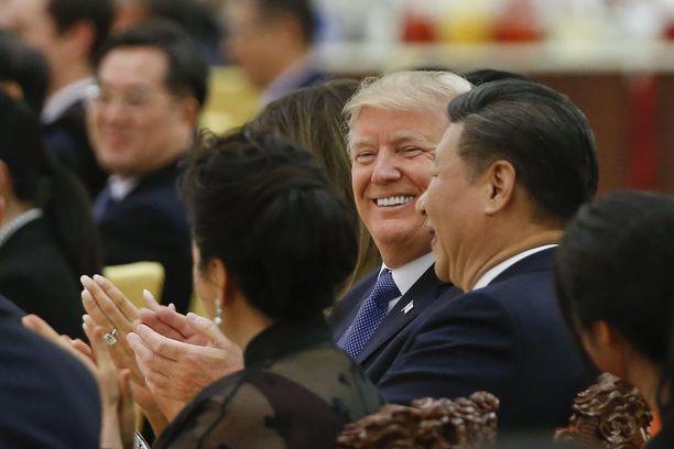 Trump käyttäyi maltillisesti Kiinan-vierailullaan.