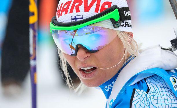 Mari Laukkanen ei saanut parasta irti olympialaisissa.