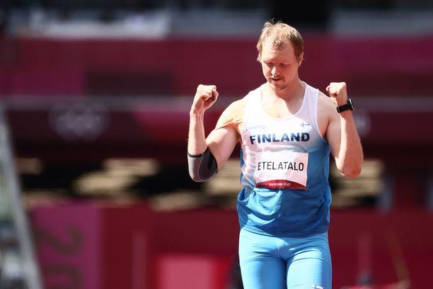 Lassi Etelätalo kiskaisi itsensä keihäänheiton olympiafinaaliin.
