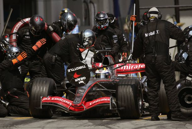 Marc Priestley oli McLarenin mekaanikko 2000-luvun ensimmäisellä vuosikymmenellä.