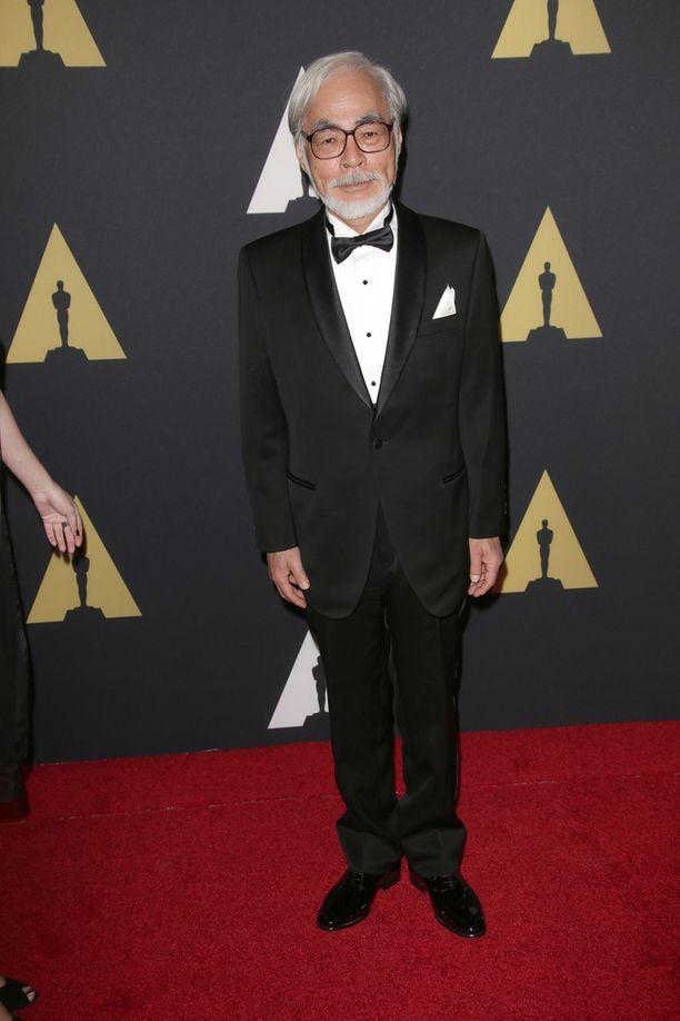 Miyazaki palkittiin urastaan kunnia-Oscarilla syksyllä 2014.