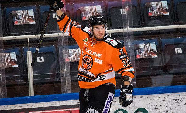 Miro Karjalainen iski maalin HPK:n 3-1-voitossa.