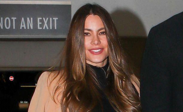 44-vuotias Sofia Vergara on näyttävä ilmestys.
