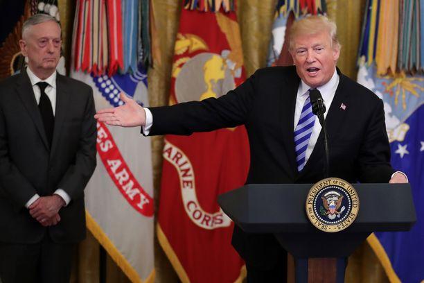 Mattisin erimielisyyksistä Trumpin kanssa huhuttiin jo useita kuukausia.
