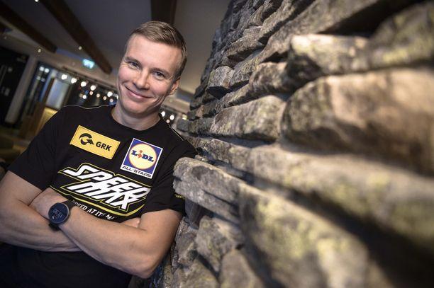 Matti Heikkinen avaa kilpailukautensa sunnuntaina Muonion Olos-tunturilla.