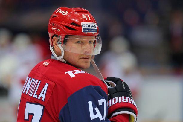 Petri Kontiola on juoninut KHL-jäillä kaikkiaan jo 350 tehopistettä.