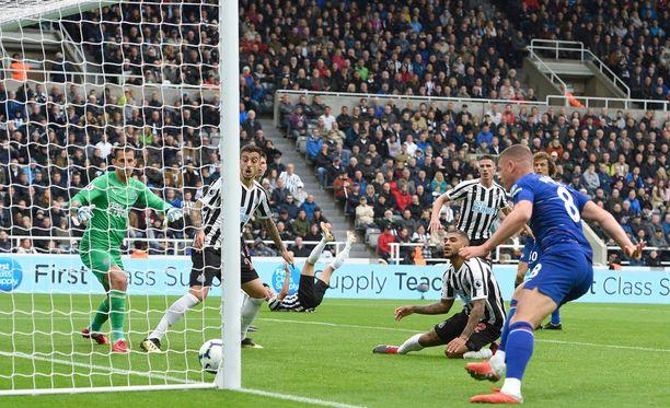 Chelsea sai tehdä täyden päivätyön Newcastlen kaatamiseksi.