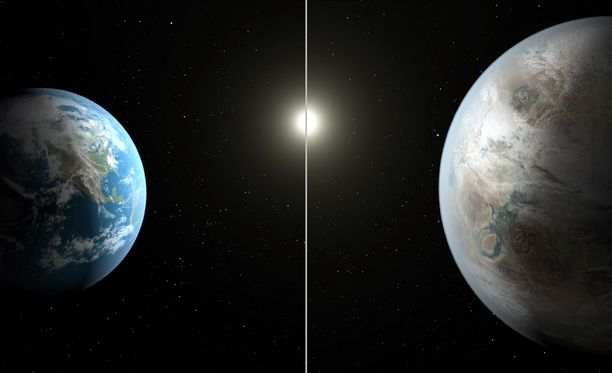 """Nasan mukaan nyt löydetty planeetta on maapallon serkku - ja """"yksi askel lähempänä maapallo 2.0:n löytymistä""""."""
