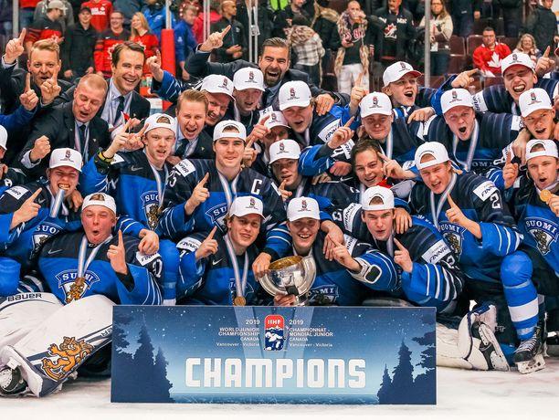 Suomi voitti alle 20-vuotiaiden MM-kultaa jo kolmannen kerran kuuteen vuoteen.