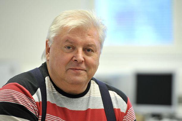 Kokkolalainen laulaja-säveltäjä Bengt Huhta.