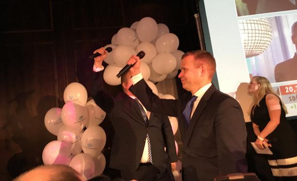 Kokoomuksen puheenjohtaja Petteri Orpo uskoi puolueen menestykseen ennakkoäänten julkaisemisen jälkeen.