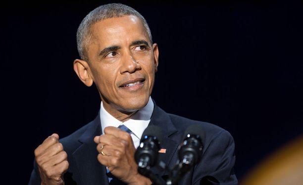 Obamacare on Barack Obaman lippulaiva.