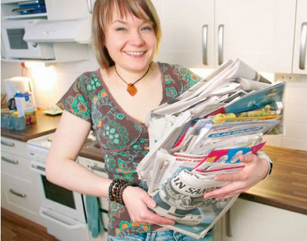 -Aluksi pelkäsin, että kierrättäminen on vain ohimenevä buumi, Jelena Juntunen kertoo.