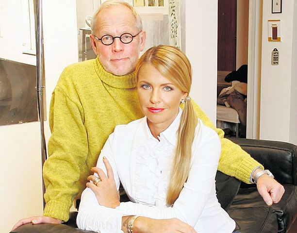 VOI HARMI Anu Saagim ja Ristomatti Ratia hankkivat kovan onnen kartanon kymmenisen vuotta sitten.