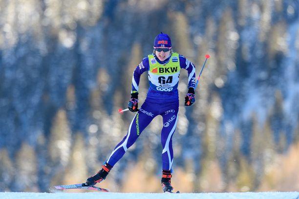 Eveliina Piippo avasi nuorten MM-mitalitilinsä.