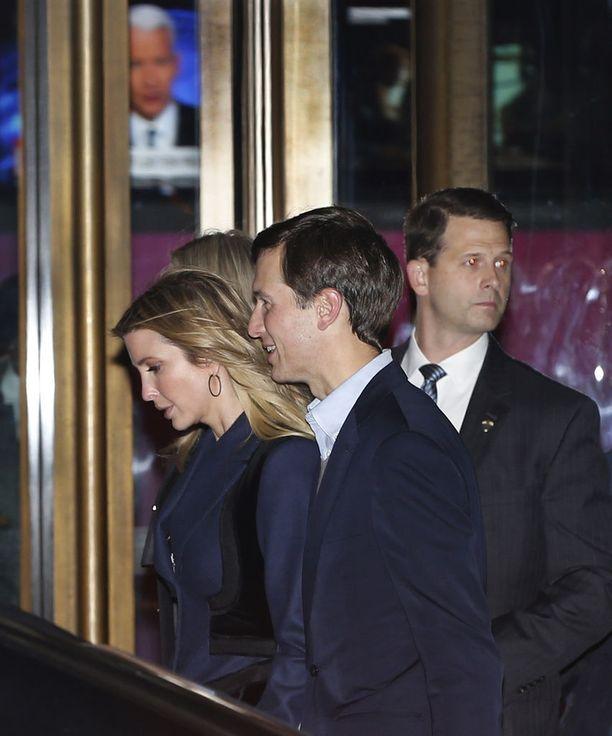 Sekä Ivanka että hänen miehensä Jared Kushner saattavat saada virat Trumpin hallinnosta.