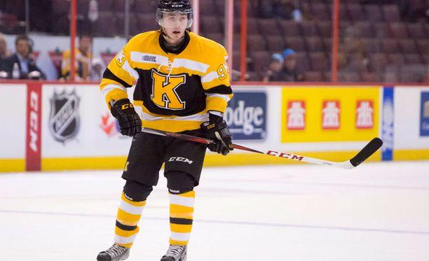 Supertalentti Sam Bennett on mielenkiintoinen nimi NHL:n varaustilaisuudessa.