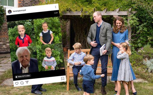 Tältä kuulostavat Britannian pikkukuninkaalliset – tuoreella videolla juttelee myös prinssi Louis, 2