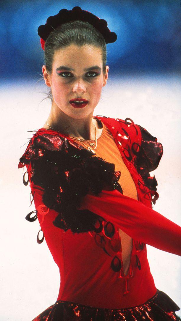 Katarina Witt voitti myös neljä maailmanmestaruutta.