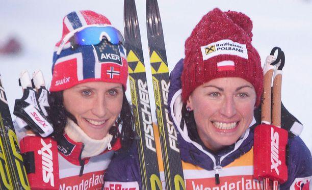Marit Björgen ja Justyna Kowalczyk ovat vääntäneet astmalääkityksen hyödyistä jo vuosia.