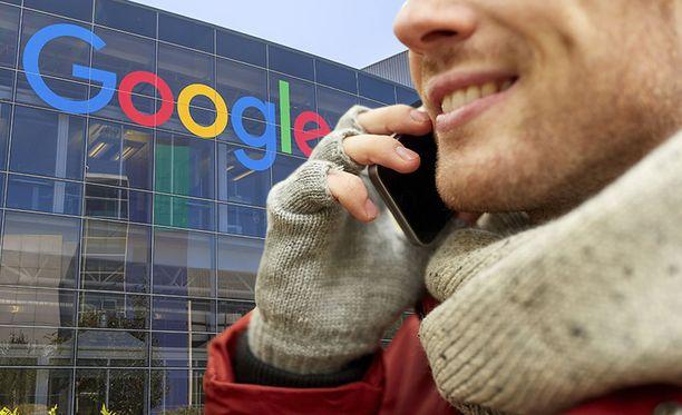 Google kerää käyttäjistään monenlaista tietoa. Kuvituskuva.
