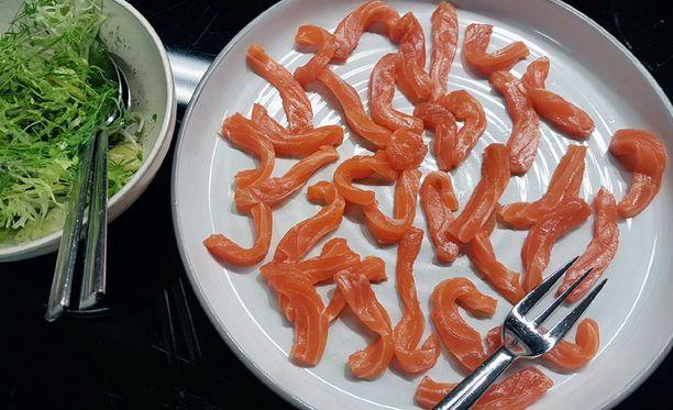 Arctic umami -sarjassa on kolme erilaista kalatuotetta: naturel, graavija kylmäsavukala.