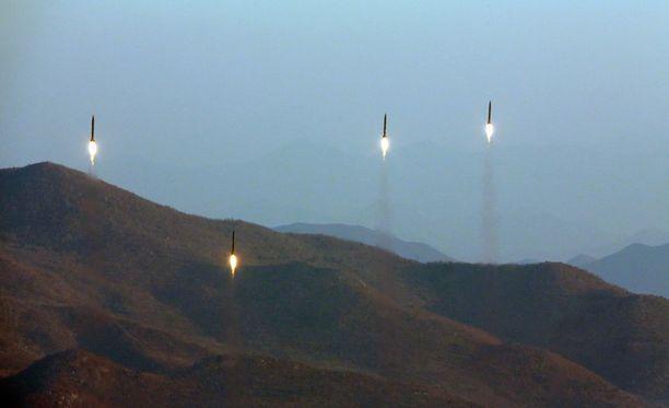 Pohjois-Korea teki kaksi viikkoa sitten ohjuskokeen. Nyt sen tekemä koe todennäköisesti epäonnistui.