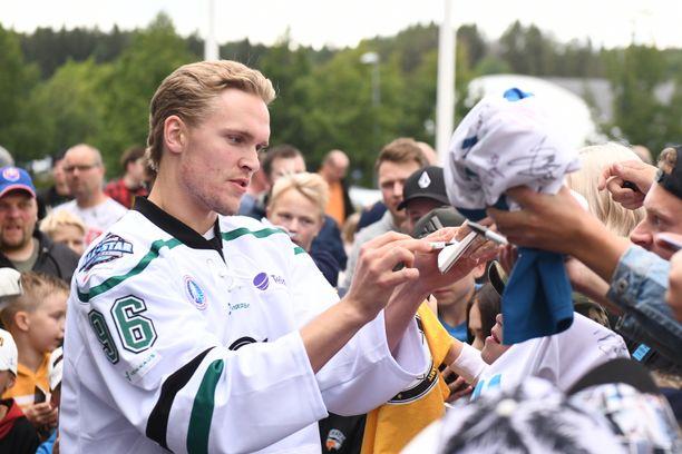 Mikko Rantasen nimmareilla riitti kysyntää Lahden All Star -tapahtumassa.