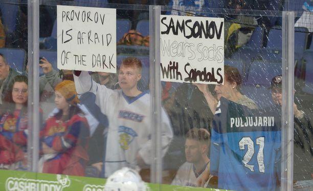 Venäjällä ei arvostettu suomalaisten terveisiä.