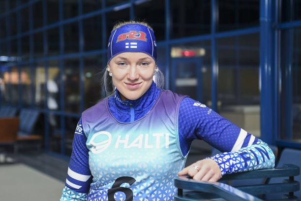 Anita Korva on suomalaisen hiihdon tulevaisuuden toivo.