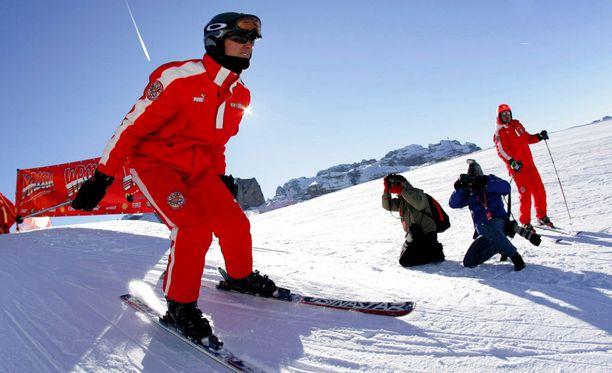 Vuonna 2006 Michael Schumacher laski Italiassa.