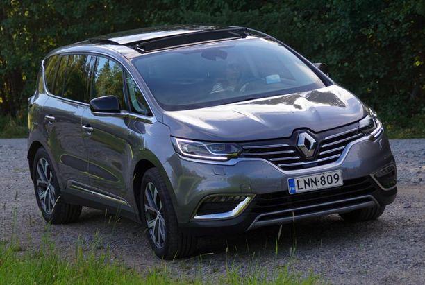 12. Renaultin iso tila-auto tarjoaa samaa uutta muotoiluilmettä kuin pienemmätkin Renaultit.