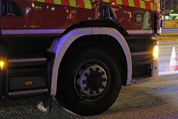 Onnettomuus tapahtui Vaalassa Järvikyläntiellä sijaitsevassa koulukeskuksessa. Kuvituskuva.