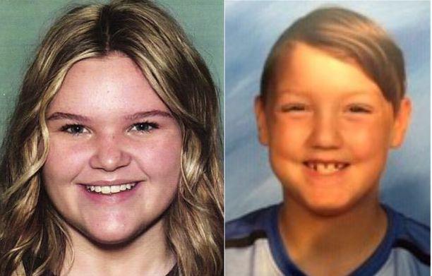 Tylee Ryan, 17, ja Joshua Vallow, 7, ovat olleet kateissa liki puoli vuotta.