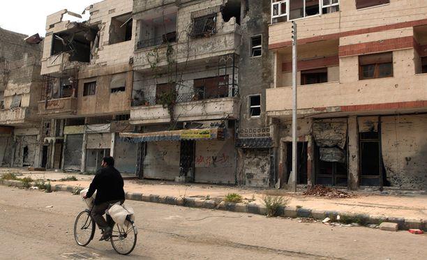 Venäjä sekaantui Syyrian sotaan syyskuussa 2015.