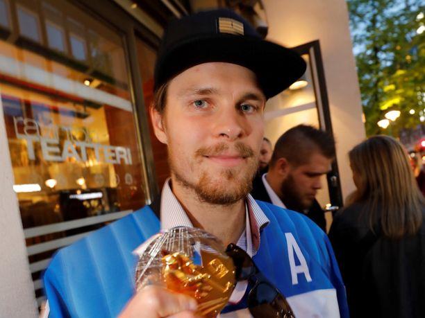 Mikko Lehtonen on väsynyt ja onnellinen.
