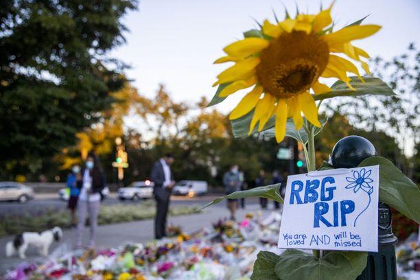 Ruth Bader Ginsburgin kuolema on sähköistänyt USA:n presidenttivaalikampanjan.