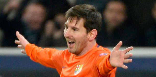 Lionel Messin puolivälierä kesti vain avauspuoliajan.