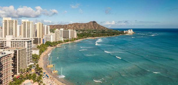 Havaiji on yksi Yhdysvaltojen osavaltioista ja on tunnettu tropiikistaan sekä rannoistaan.