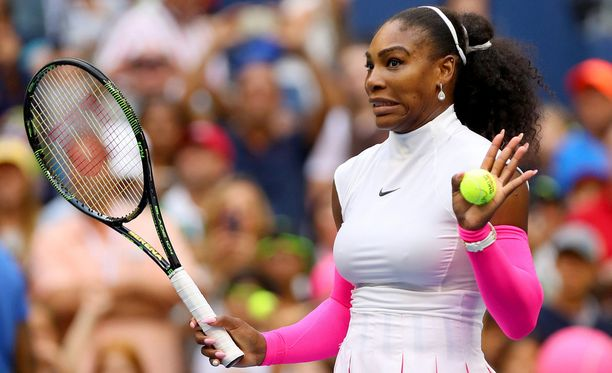 Serena Williamsin peli oli ilmeikästä.