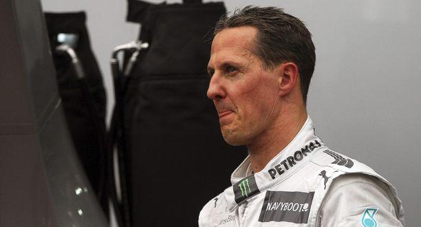 Michael Schumacher on ollut urallaan kyseenalaisissa kolareissa.