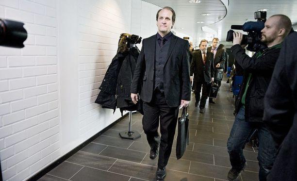 Wincapitan perustaja Hannu Kailajärvi kuvattuna oikeudessa vuonna 2011.
