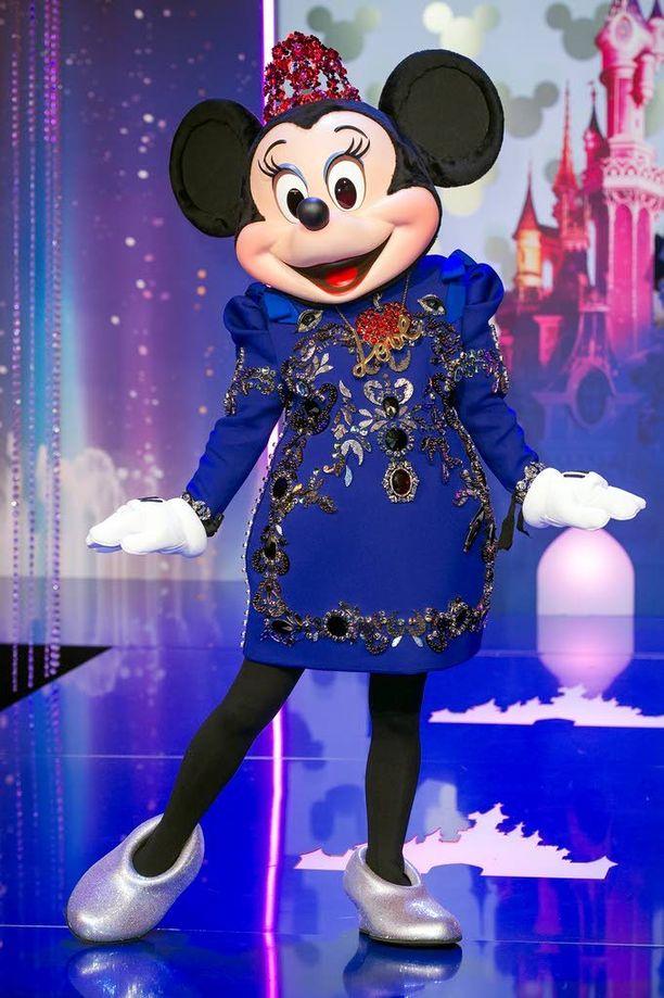 Minni Hiiri esiintyi Pariisin Disneylandissa. Arkistokuva.