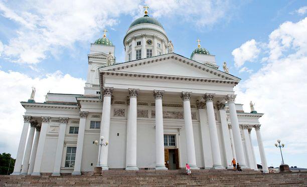 Mauno Koivisto siunataan Helsingin tuomiokirkossa.