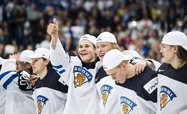 Suomi voitti MM-kultaa viime vuoden kotikisoissa.