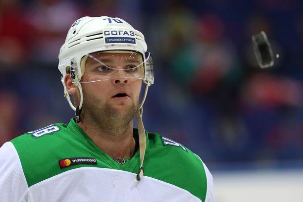 Teemu Hartikainen nousi KHL:n pudotuspelien pistepörssin kärkeen.