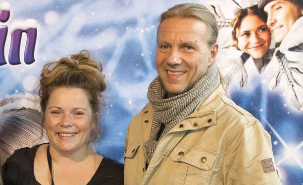 Kiti Kokkonen ja hänen miehensä Olavi Tikka kuvattuna vuonna 2015.
