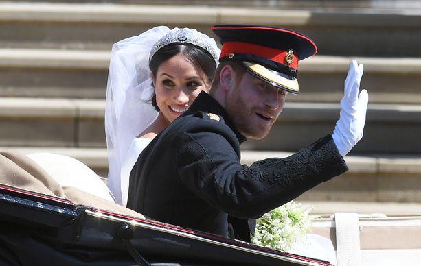 Tällä hetkellä Los Angelesissa majailevat prinssi Harry ja herttuatar Meghan viettivät keskiviikkona toista hääpäiväänsä.