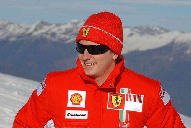 Kimi Räikkösestä tuli Ferrarin mies kaudelle 2007.