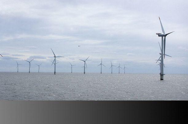 Tuulivoiman suurvalta Tanska jää uusiutuvan energian kokonaiskäytössä Suomenkin taakse.